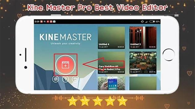 Kine Master Pro Video Editor - Tips Guide screenshot 1