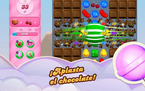 Candy Crush Saga captura de pantalla 8