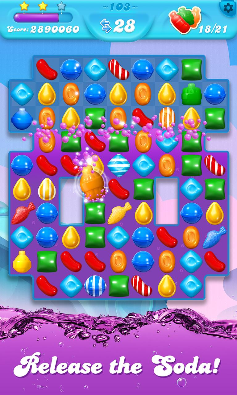 Candy Crush Soda Saga APK Download - Free Casual GAME for