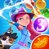 Install Game Puzzle android Bubble Witch 3 Saga free