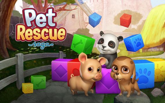Pet Rescue Saga تصوير الشاشة 9