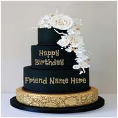 Name On Birthday Cake icon