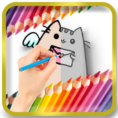 Pusheen Coloring Book icon