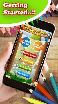 Pusheen Coloring Book screenshot 1