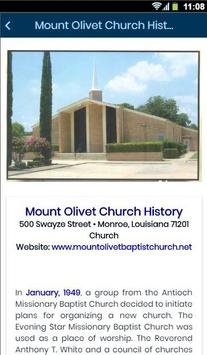 Mount Olivet Baptist Church screenshot 1