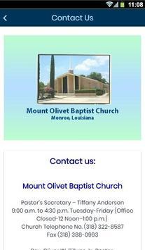 Mount Olivet Baptist Church screenshot 2