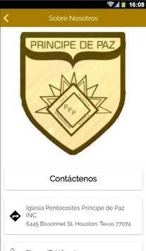 Iglesia Pentecostes Principe de Paz screenshot 2