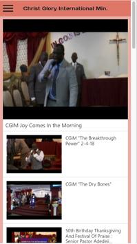 Christ Glory International screenshot 3