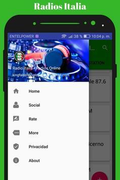 Radio Italia - Radios Online screenshot 3