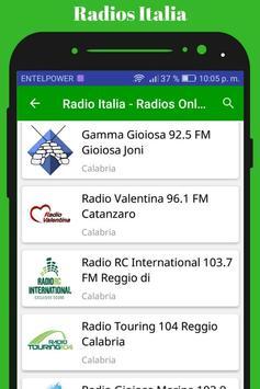 Radio Italia - Radios Online screenshot 1