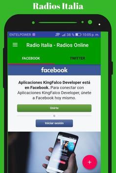 Radio Italia - Radios Online screenshot 5