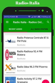 Radio Italia - Radios Online screenshot 8