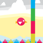 Color Bird Flap icon