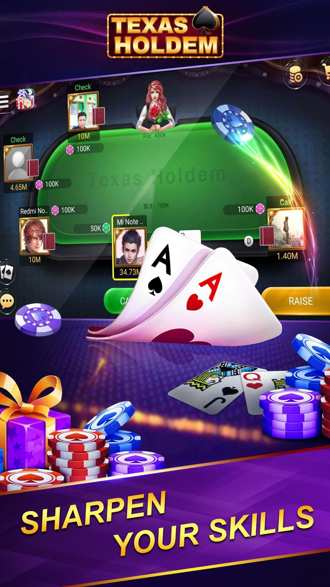 Online Texas Poker