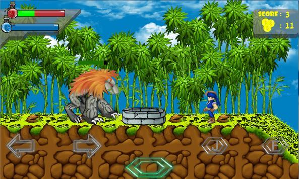 Ninja Warrior : Dragon Kingdom screenshot 3