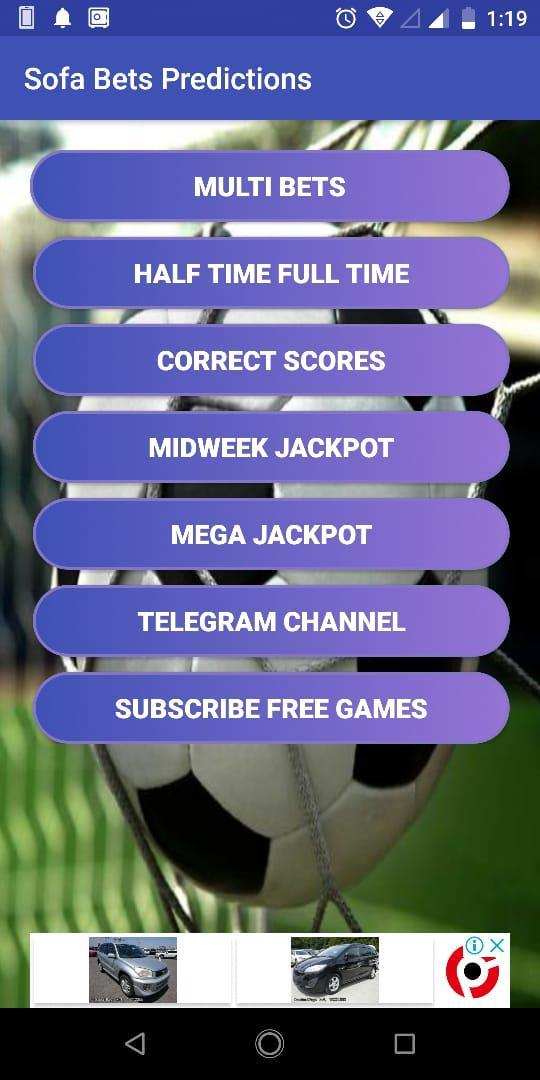 Sofa Bets Prediction & Analysis for Android - APK Download
