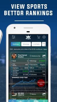 7 Schermata Sports Betting Tips & Sports Picks by KingPin.pro