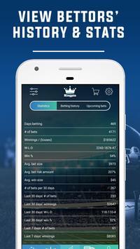 9 Schermata Sports Betting Tips & Sports Picks by KingPin.pro