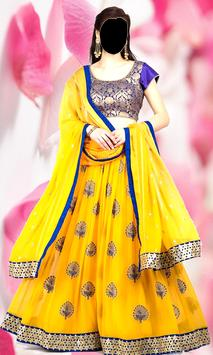 Lehenga Choli Photo Editor poster