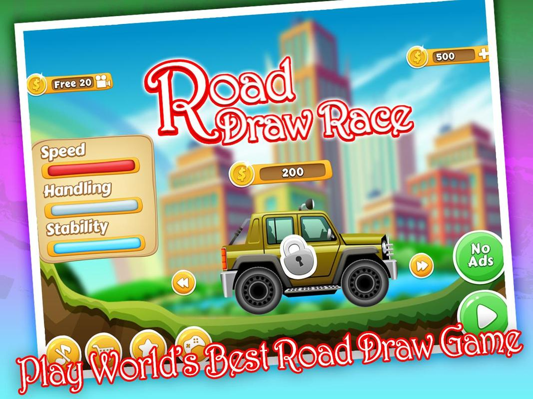 Road Draw Race Uphill Racing 2018 For Android Apk Download