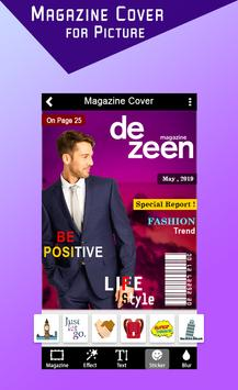 Magazine Cover For Picture screenshot 7