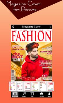 Magazine Cover For Picture poster