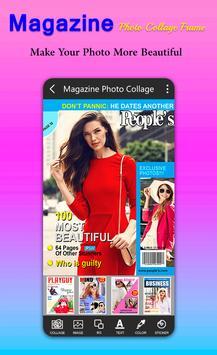 Magazine Photo Collage Frame screenshot 1