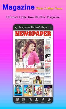 Magazine Photo Collage Frame screenshot 2
