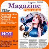 Magazine Photo Collage icon