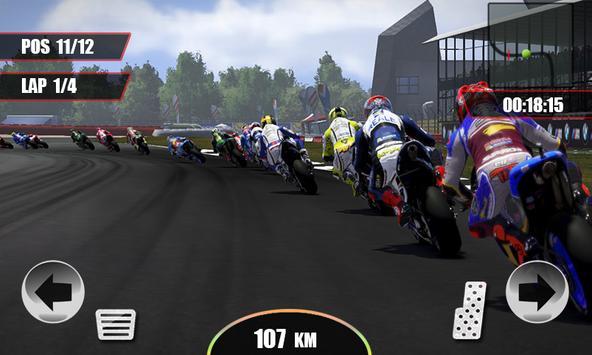 Real Motor Gp Speed Racing - Motorcycle Rider 3D screenshot 1