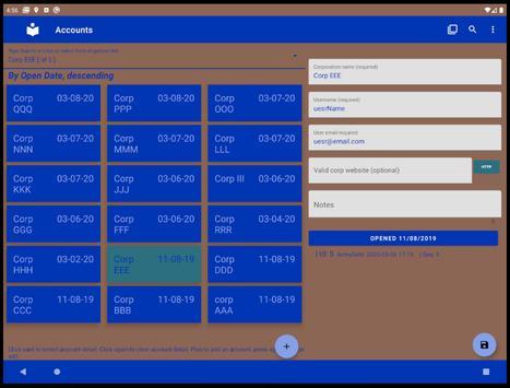 List & Edit Accounts screenshot 15