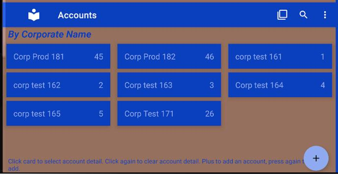 List & Edit Accounts screenshot 3