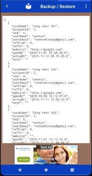 List & Edit Accounts screenshot 6