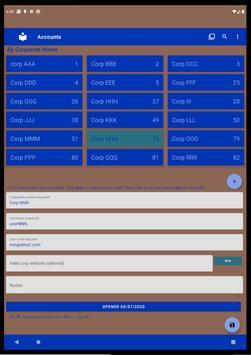 List & Edit Accounts screenshot 9