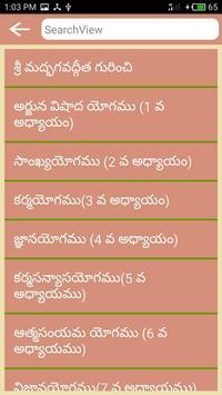 Bhagavad Gita Telugu poster