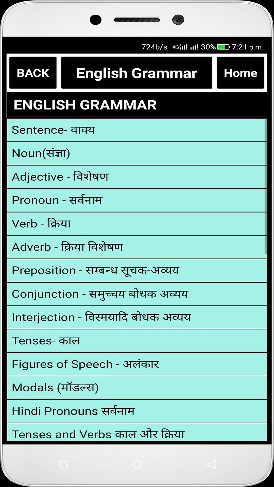English Grammar (offline) poster