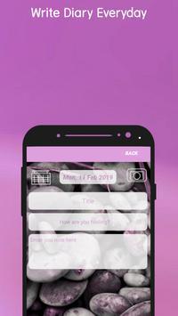 BeFree Diary :Secret Diary With Lock | Fingerprint screenshot 3