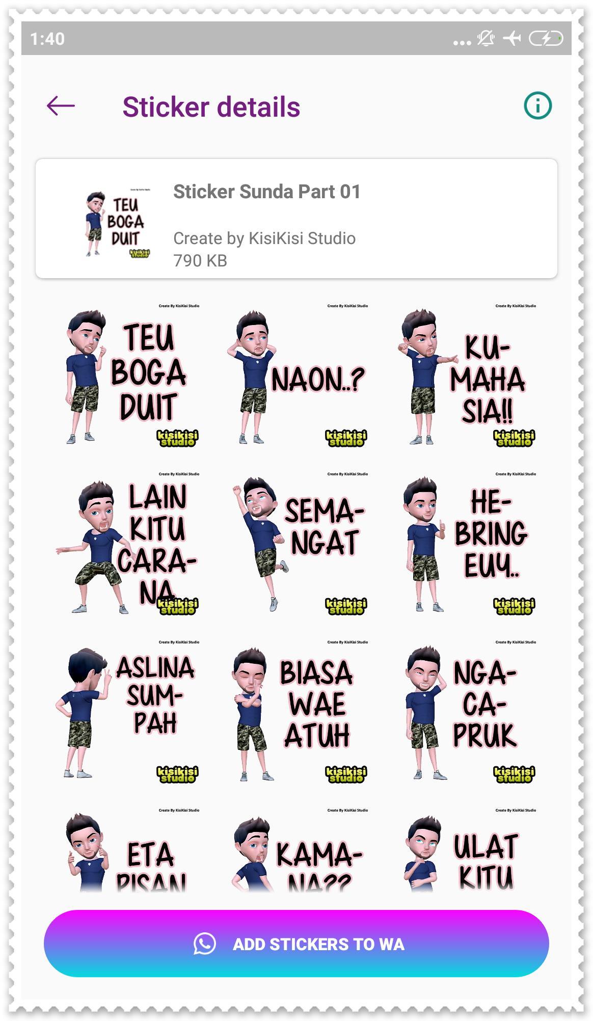 Stiker Sunda Lucu Wa Stickers For Android Apk Download