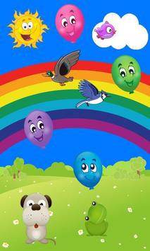 Poster TOUCH BALLOON POP GAME