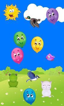 2 Schermata TOUCH BALLOON POP GAME