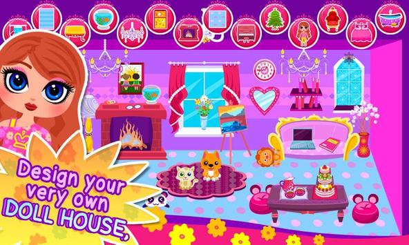 My Own Family Doll House Game poster