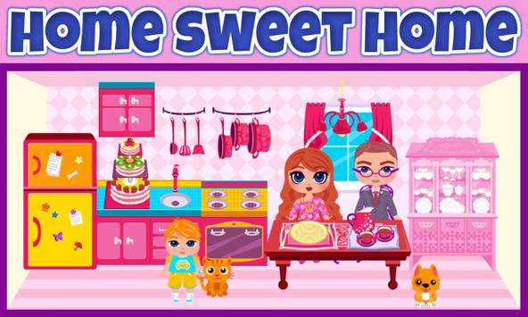 My Own Family Doll House Game screenshot 1