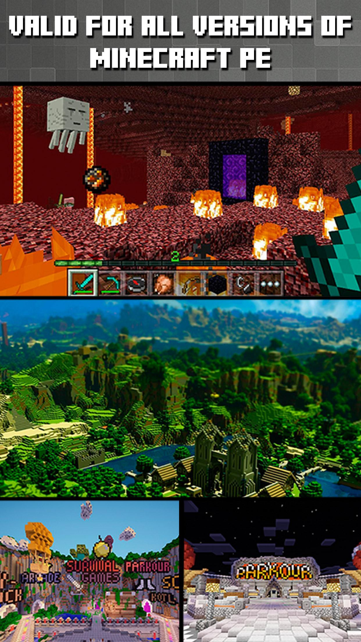 Servers for Minecraft PE for Android - APK Download