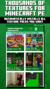 Texture Packs for Minecraft PE poster