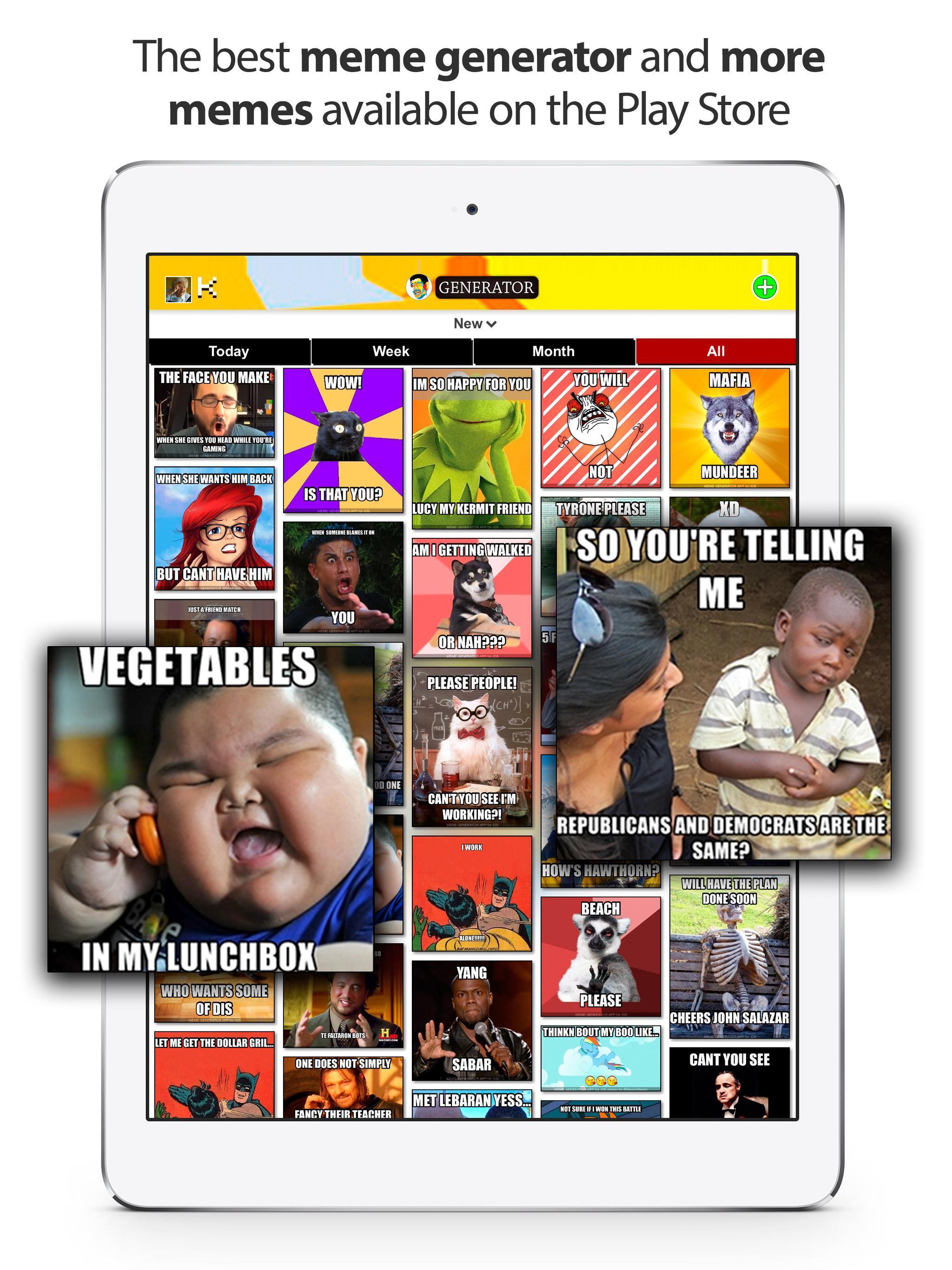 Generator of Memes and Images: Meme Generator para Android - APK Baixar