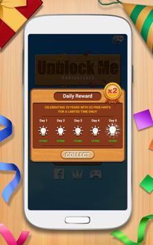 لعبة أحجية الحجرات المنسدلة - Unblock Me FREE تصوير الشاشة 6