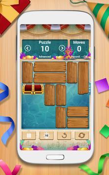 لعبة أحجية الحجرات المنسدلة - Unblock Me FREE تصوير الشاشة 1