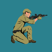 Armed forces icon