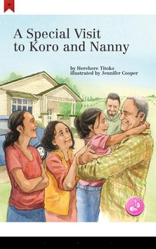Special Visit to Koro & Nanny - Ready to Read poster