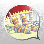 The Hole in the King's Sock - Ready to Read icon